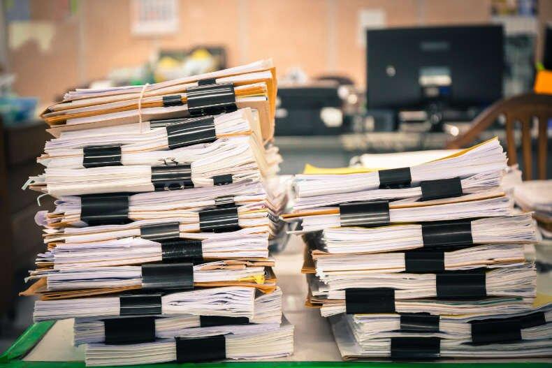EP dokumenty niszczenie dokumentów