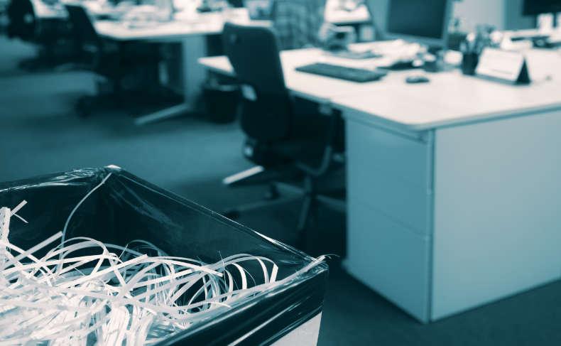 EP Dokumenty niszczenie dokumentów firmowych